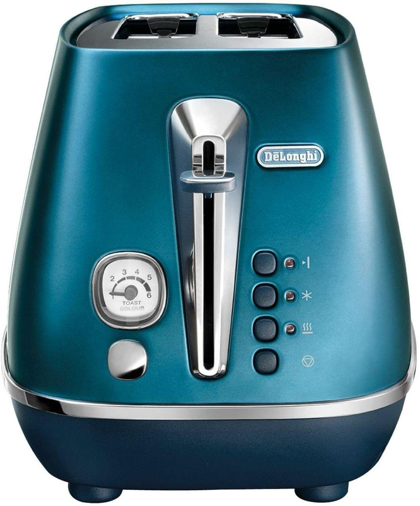 DELONGHI Distinta Flair 2 Slice Toaster - Blue