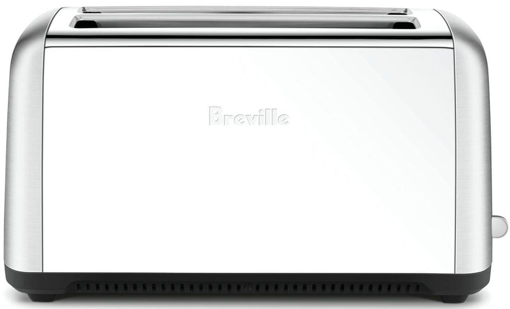 BREVILLE The Toast Control Long 4 Slice Toaster - Stainless Steel