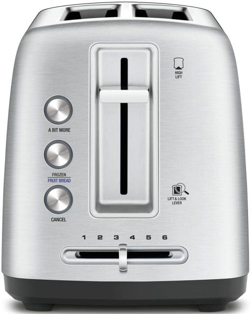 BREVILLE The Toast Control 2 Slice Toaster - Brushed Stainless Steel