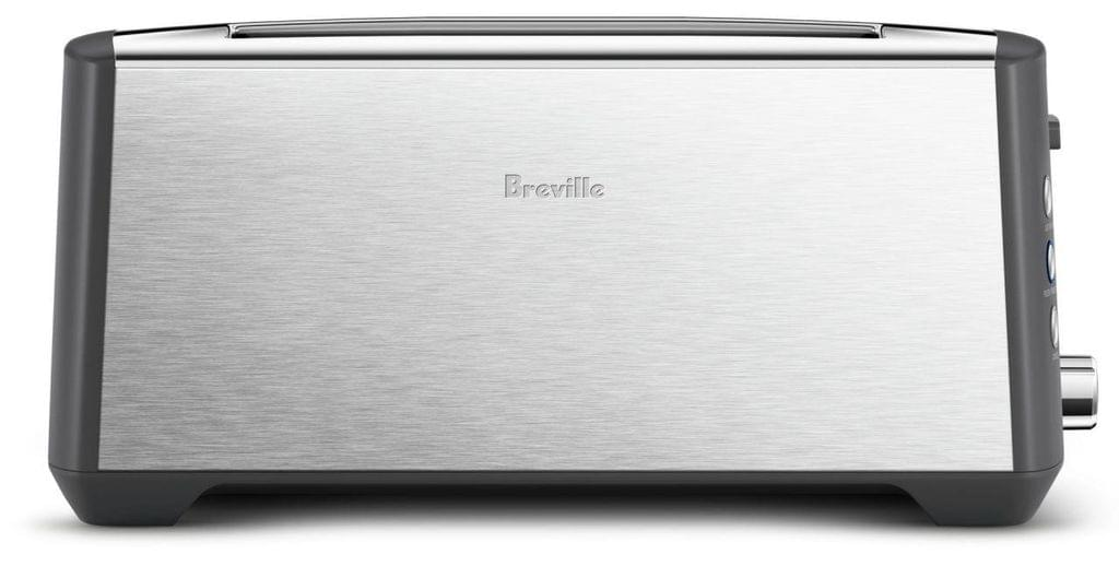 BREVILLE The Bit More Plus 4 Slice Toaster - Stainless Steel