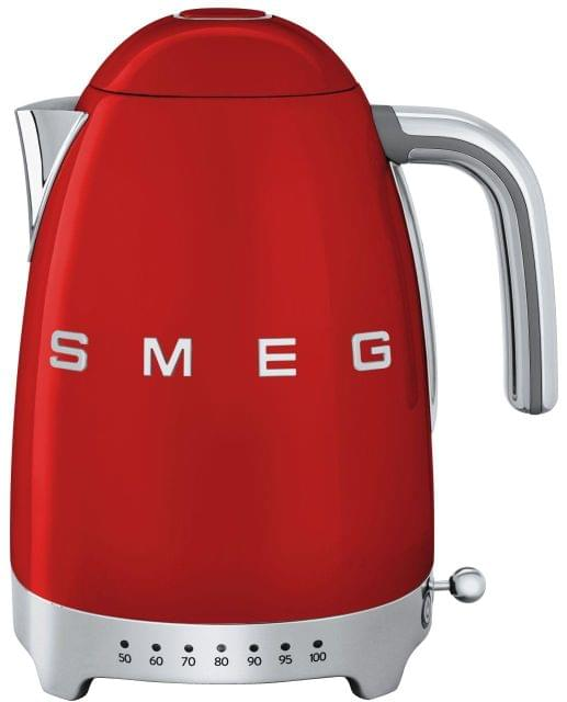 SMEG 1.7L 50's Style Variable Temperature Kettle - Red