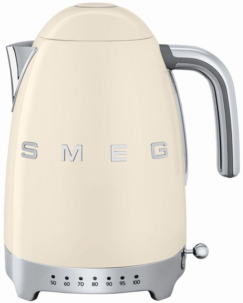 SMEG 1.7L 50's Style Variable Temperature Kettle - Cream