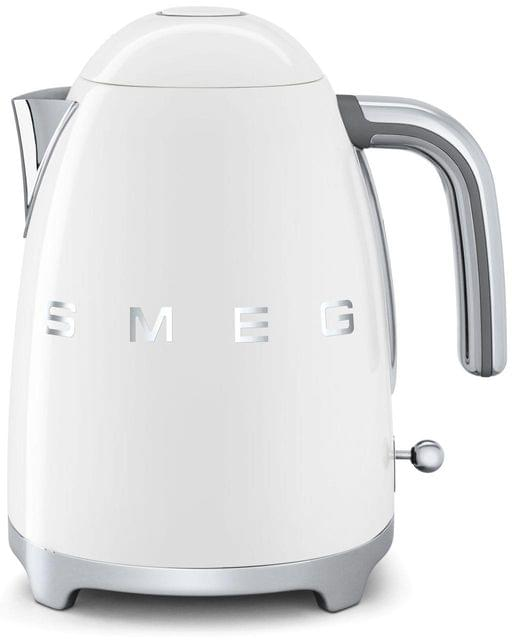 SMEG 1.7L 50's Style Stainless Steel Kettle - White