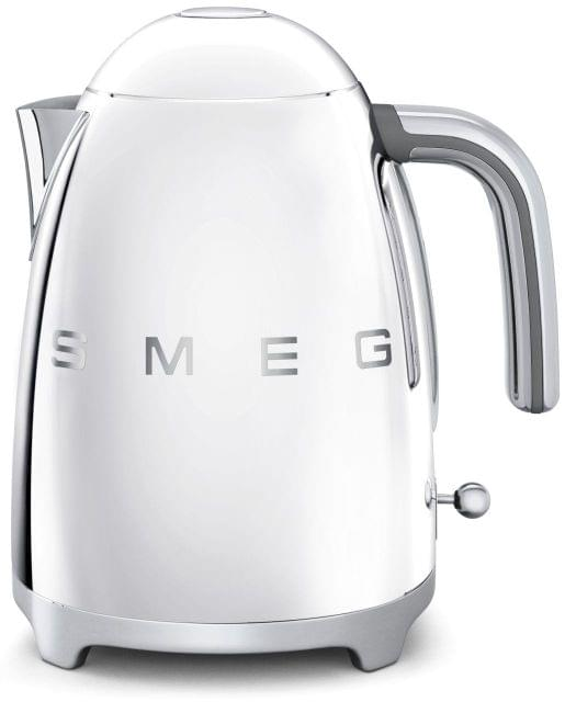SMEG 1.7L 50's Style Stainless Steel Kettle - Stainless Steel