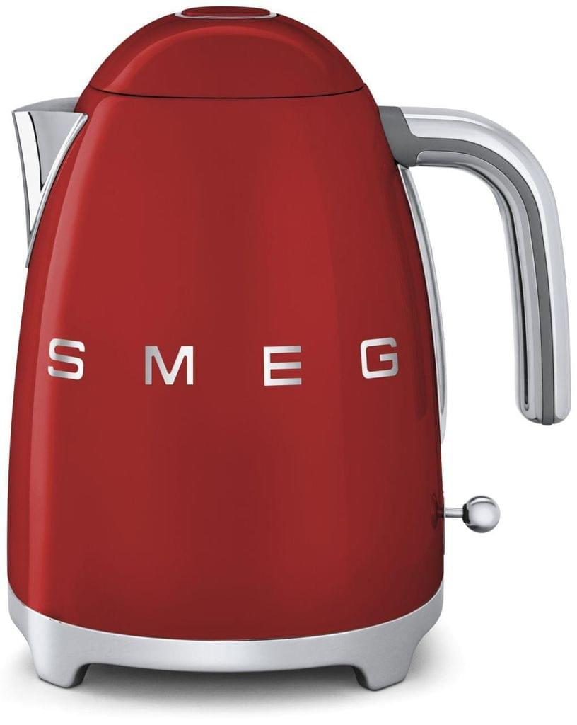 SMEG 1.7L 50's Style Stainless Steel Kettle - Red