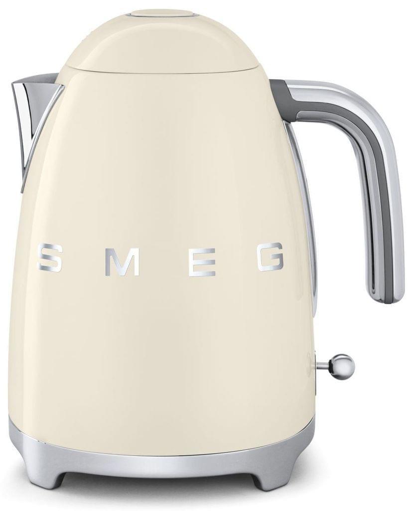 SMEG 1.7L 50's Style Stainless Steel Kettle - Cream