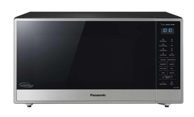 PANASONIC 44 Litre Inverter Microwave - Stainless Steel