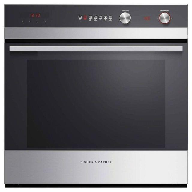 F&P 60cm Built-In Pyrolytic Oven 6 Functions