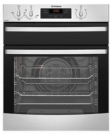 WESTINGHOUSE 60cm 3 Function Gas Oven Separate Elec.Grill