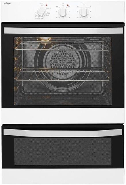 CHEF 60cm Built-In Electric Oven With Separate Grill