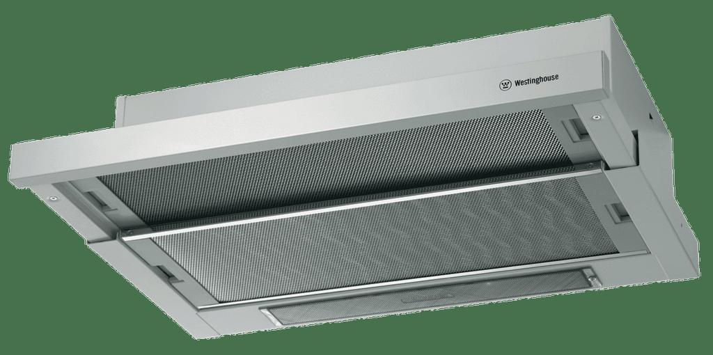 WESTINGHOUSE 60cm Rangehood Slideout 3 Speed Dual Fan