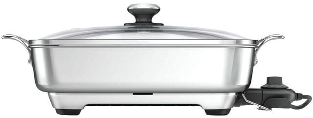 BREVILLE The Thermal Pro Stainless Frypan - Stainless Steel