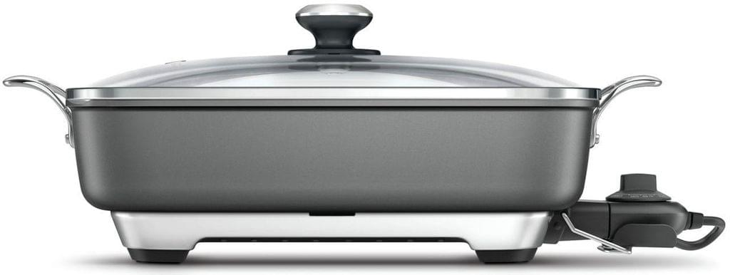 BREVILLE The Thermal Pro Non-Stick Electric Frypan - Grey