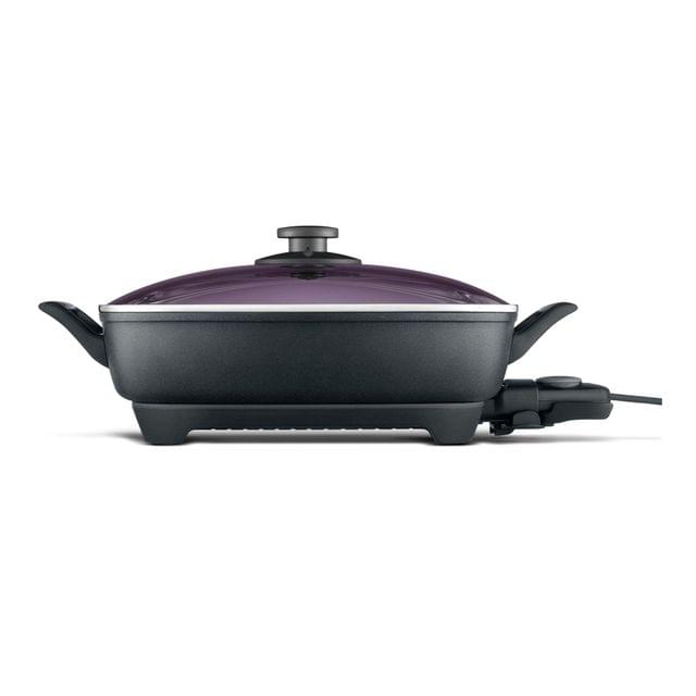 BREVILLE The Banquet Pan Electric Frypan - Black