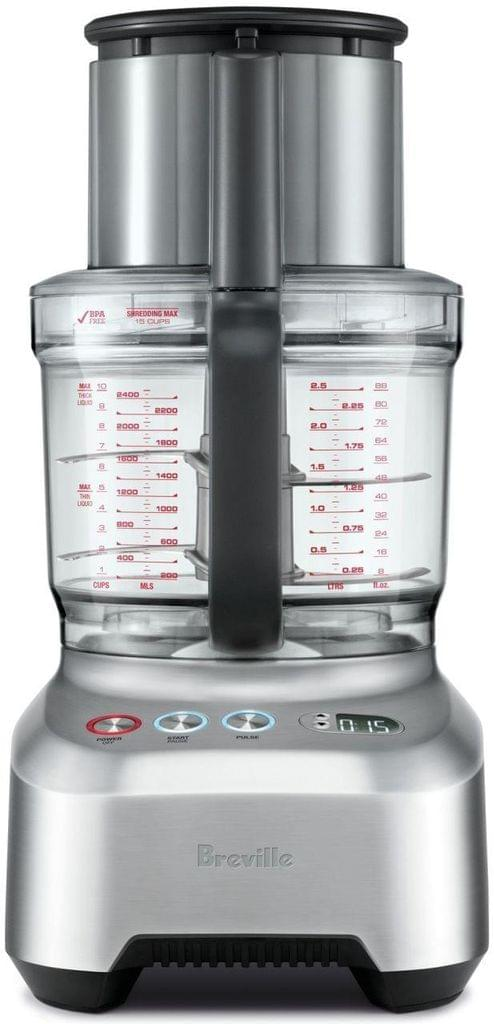 BREVILLE The Kitchen Wizz 16 Peel and Dice Food Processor - Stainless Steel