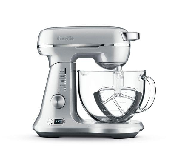BREVILLE The Bakery Boss Bench Mixer - Stainless Steel