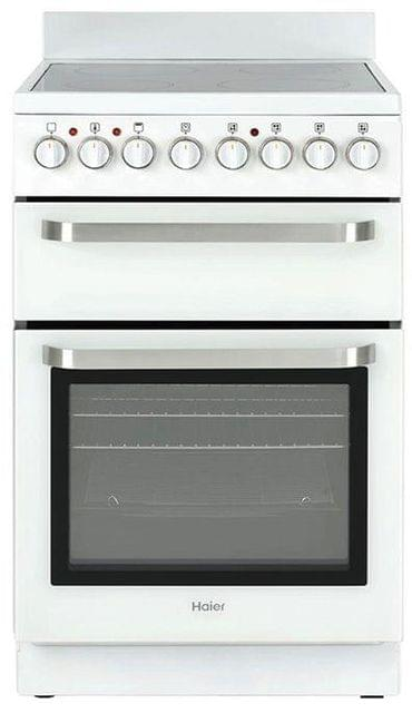HAIER 54cm Freestanding Electric Cooktop - White