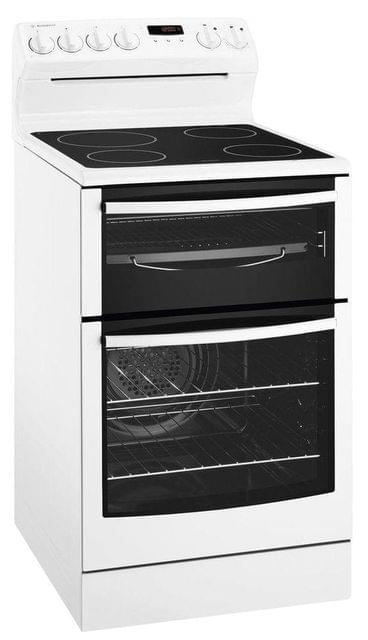 WESTINGHOUSE 54cm Freestanding w Ceran Top, Seperate Grill