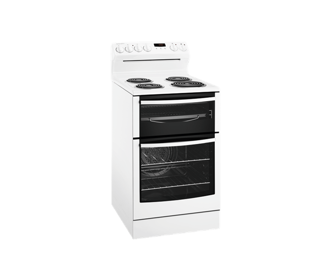 WESTINGHOUSE 54cm Upright Cooker with Fan Forced oven White