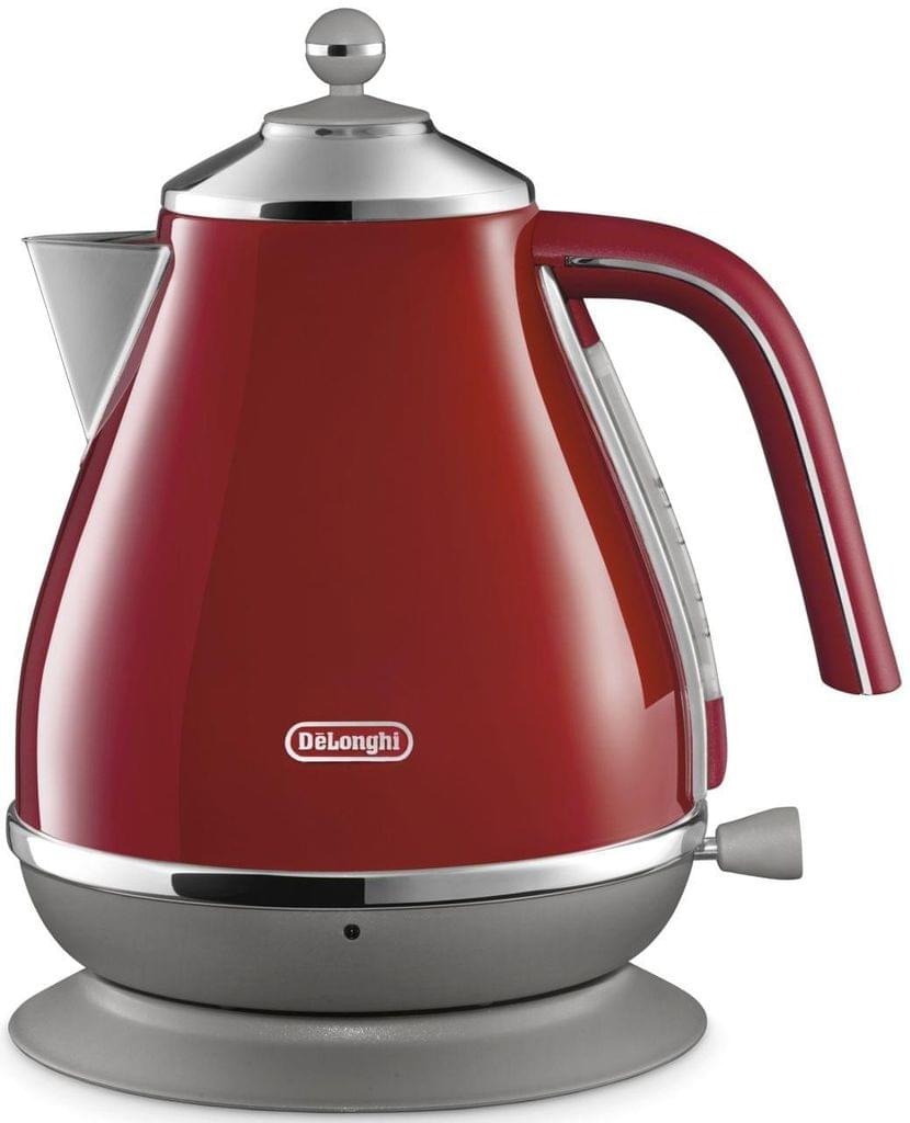 DELONGHI Icona Capitals Kettle - Red