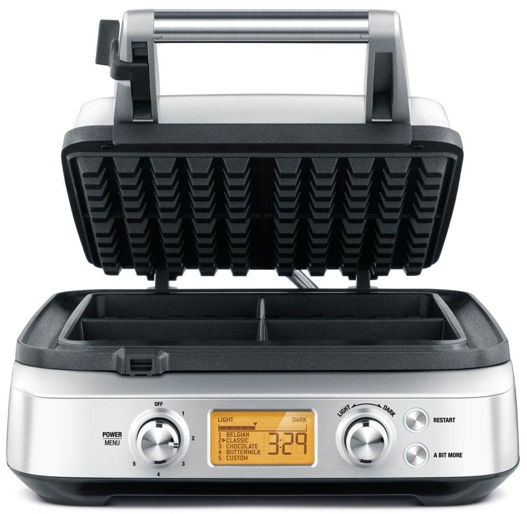 BREVILLE The Smart Waffle Maker - Stainless Steel