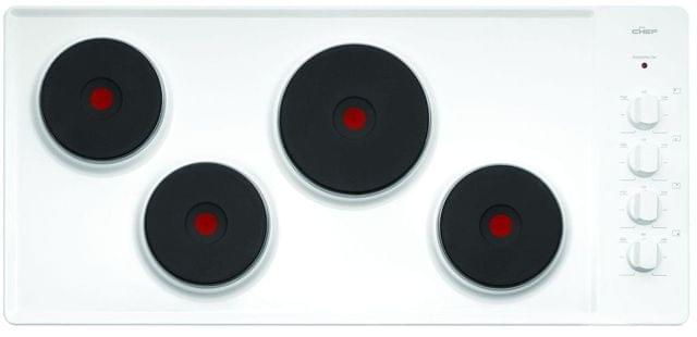 CHEF 87cm Electric Solid Element Cooktop