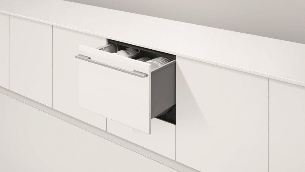 F&P 60cm Single Integrated Tall DishDrawer