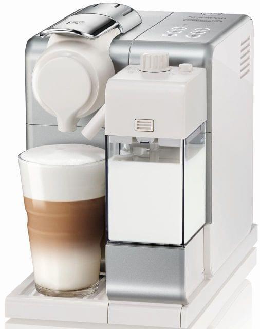 DELONGHI Nespresso Lattissima Touch Coffee Machine - Silver