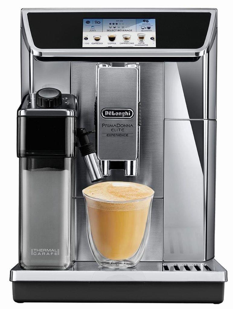 DELONGHI Primadonna Elite Experience Coffee Machine - Silver