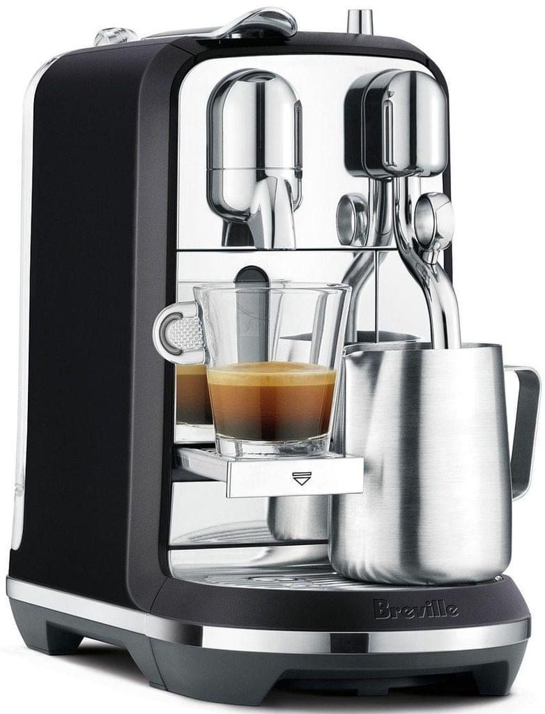 BREVILLE Nespresso Creatista Plus Coffee Machine - Black Truffle