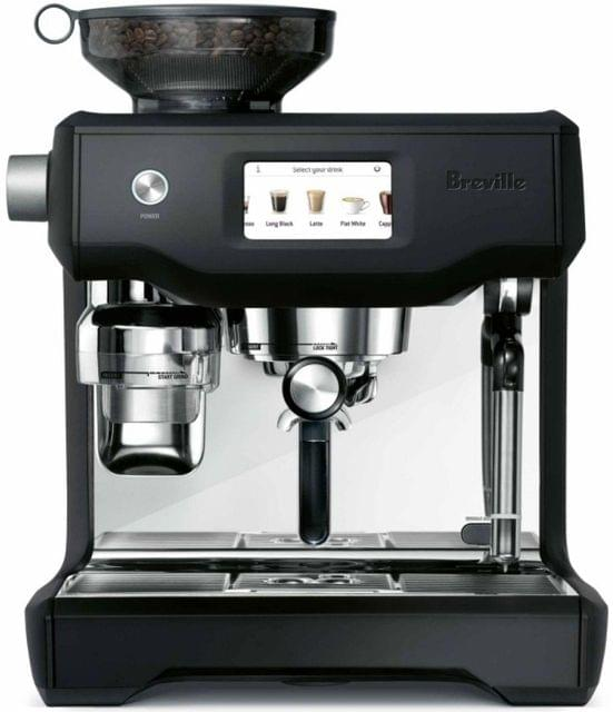 BREVILLE The Oracle Touch Coffee Machine - Black Truffle