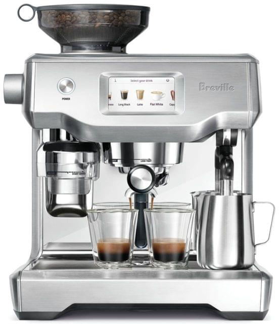 BREVILLE The Oracle Touch Coffee Machine - Brushed Stainless