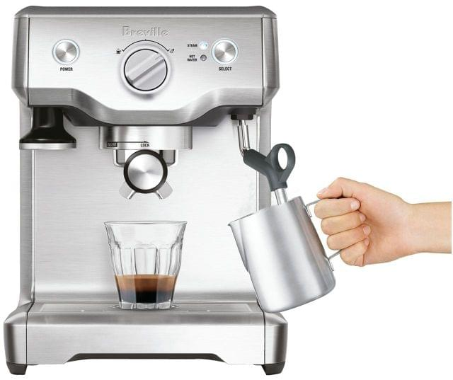 BREVILLE The Duo Temp Pro Espresso Machine - Brushed Stainle