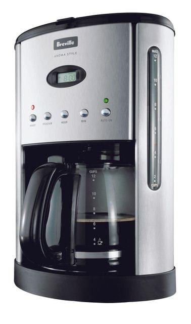 BREVILLE Aroma Style Electronic Drip Coffee Machine - Stainl