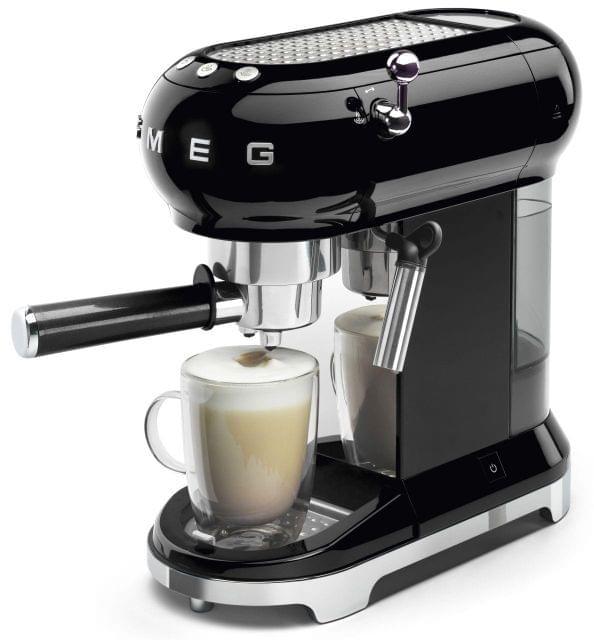 SMEG 50's Style Coffee Machine - Black