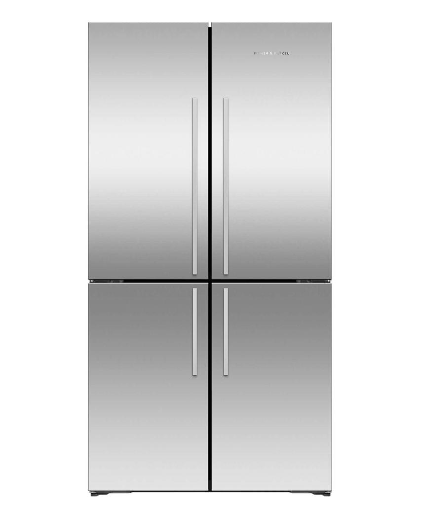 F&P 605L Four Door Fridge S/S