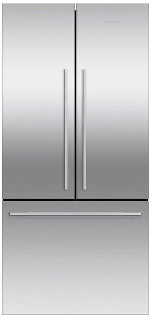 F&P 519 Litre French Door Refrigerator - With Ice