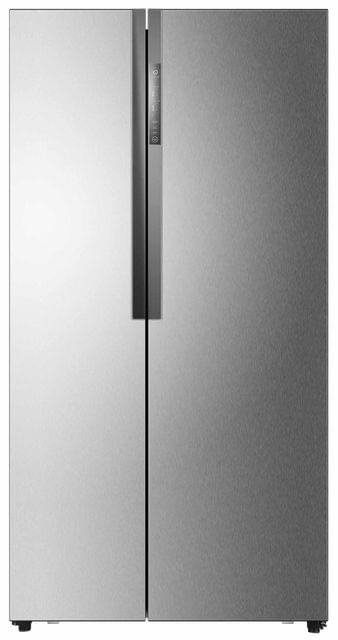 HAIER 555L Side by Side Refrigerator LED Display Silver