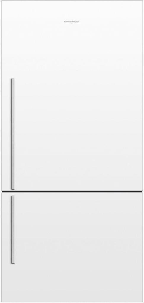 F&P 519 Litre Bottom Mount Refrigerator - Visible Handl