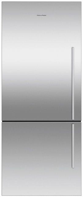 F&P 442 Litre Bottom Mount Refrigerator - Visible Handl