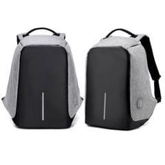 NEW Anti Theft Backpack Waterproof bag School Travel Laptop Bags USB Charging - Grey