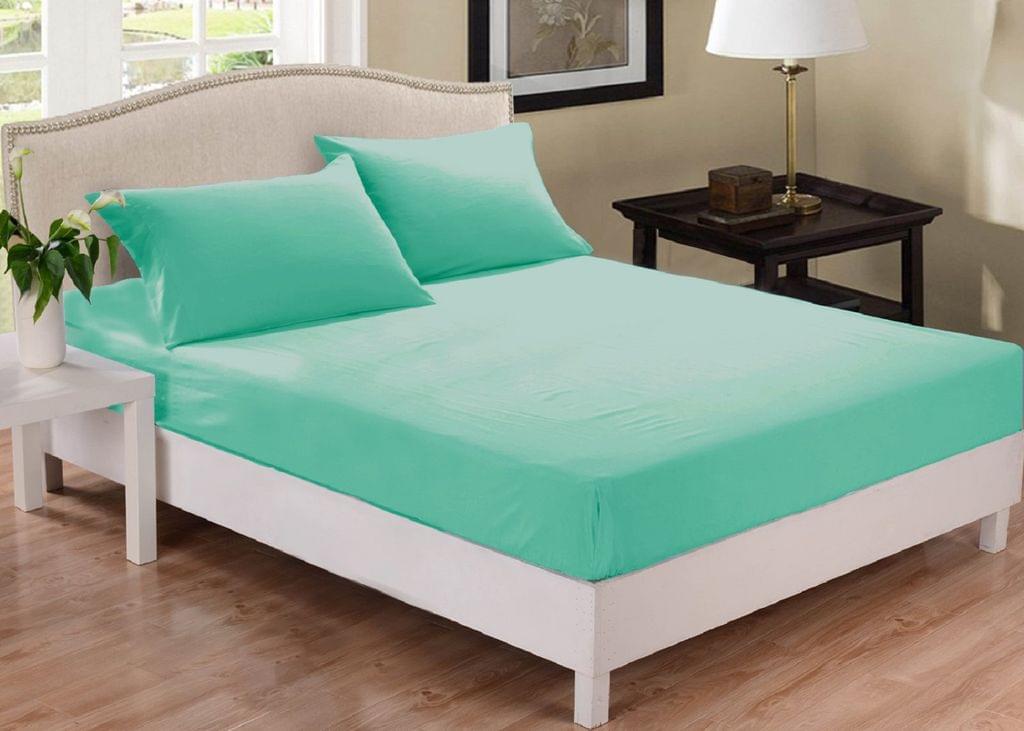 Park Avenue 1000 Thread Count Cotton Blend Combo Set Mega Queen Bed - Mist