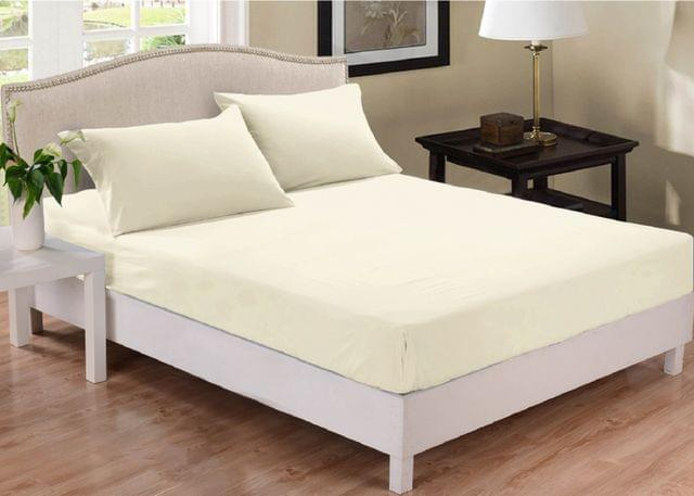 Park Avenue 1000 Thread Count Cotton Blend Combo Set Queen Bed - Pebble