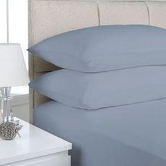 (QUEEN) Park Avenue 175GSM Egyptian Cotton Flannelette Sheet Set - Indigo
