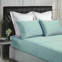 (KING) Park Avenue 500TC Soft Natural Bamboo Cotton Sheet Set Breathable Bedding - Fog