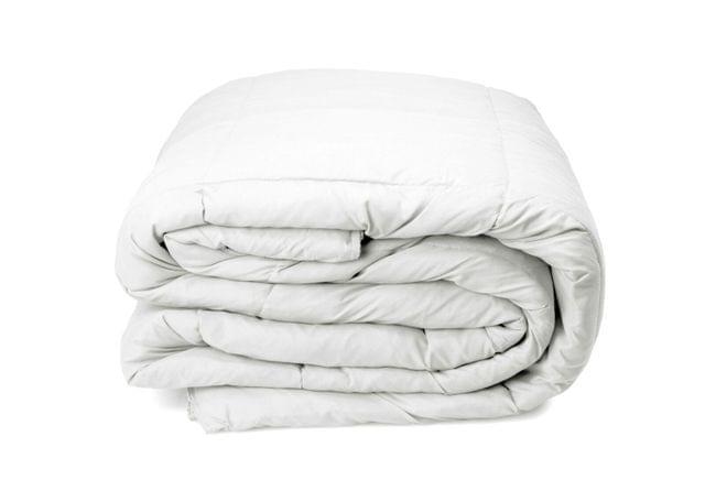 Royal Comfort 350GSM Luxury Soft Bamboo All-Seasons Quilt Duvet Doona All Sizes - King - White