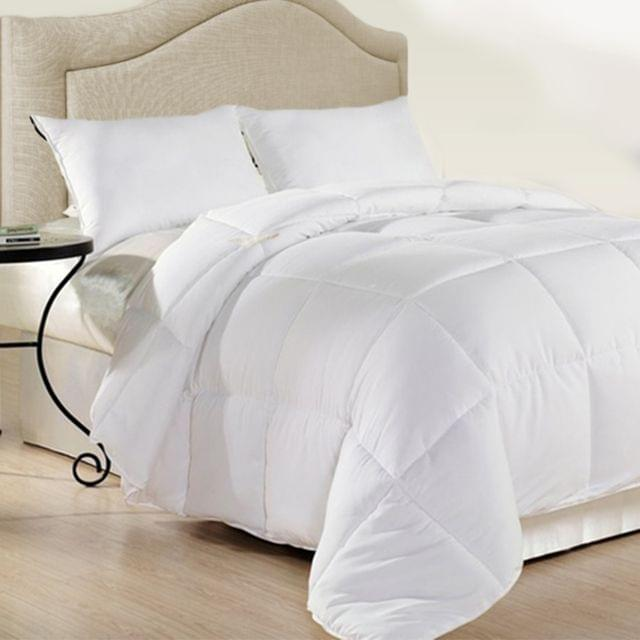 Royal Comfort 500GSM Plush Duck Feather Down Quilt Ultra Warm Soft - All Seasons - Double