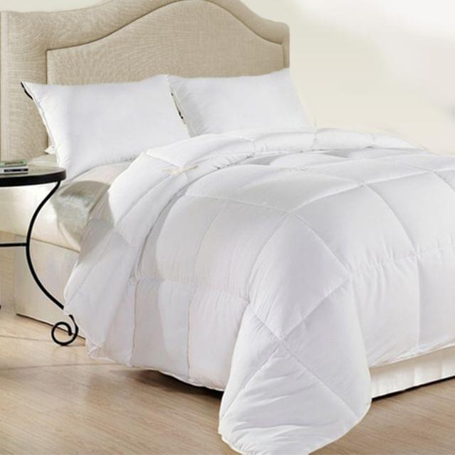 Royal Comfort 500GSM Plush Duck Feather Down Quilt Ultra Warm Soft - All Seasons - Queen