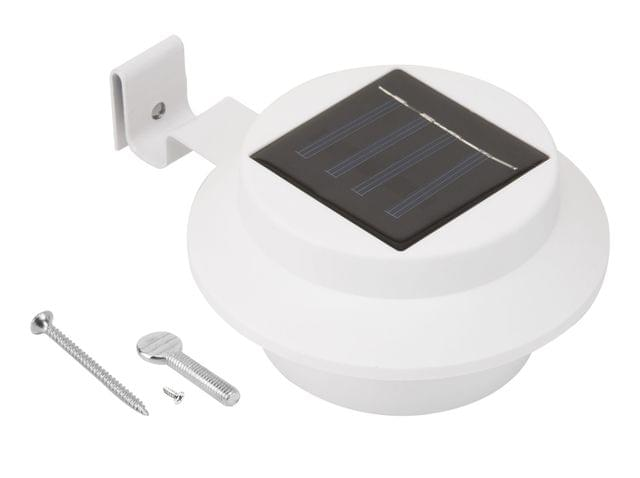 Utmark Solar Gutter LED Light Outdoor Garden Fence Wall Lamp Automatic On/Off