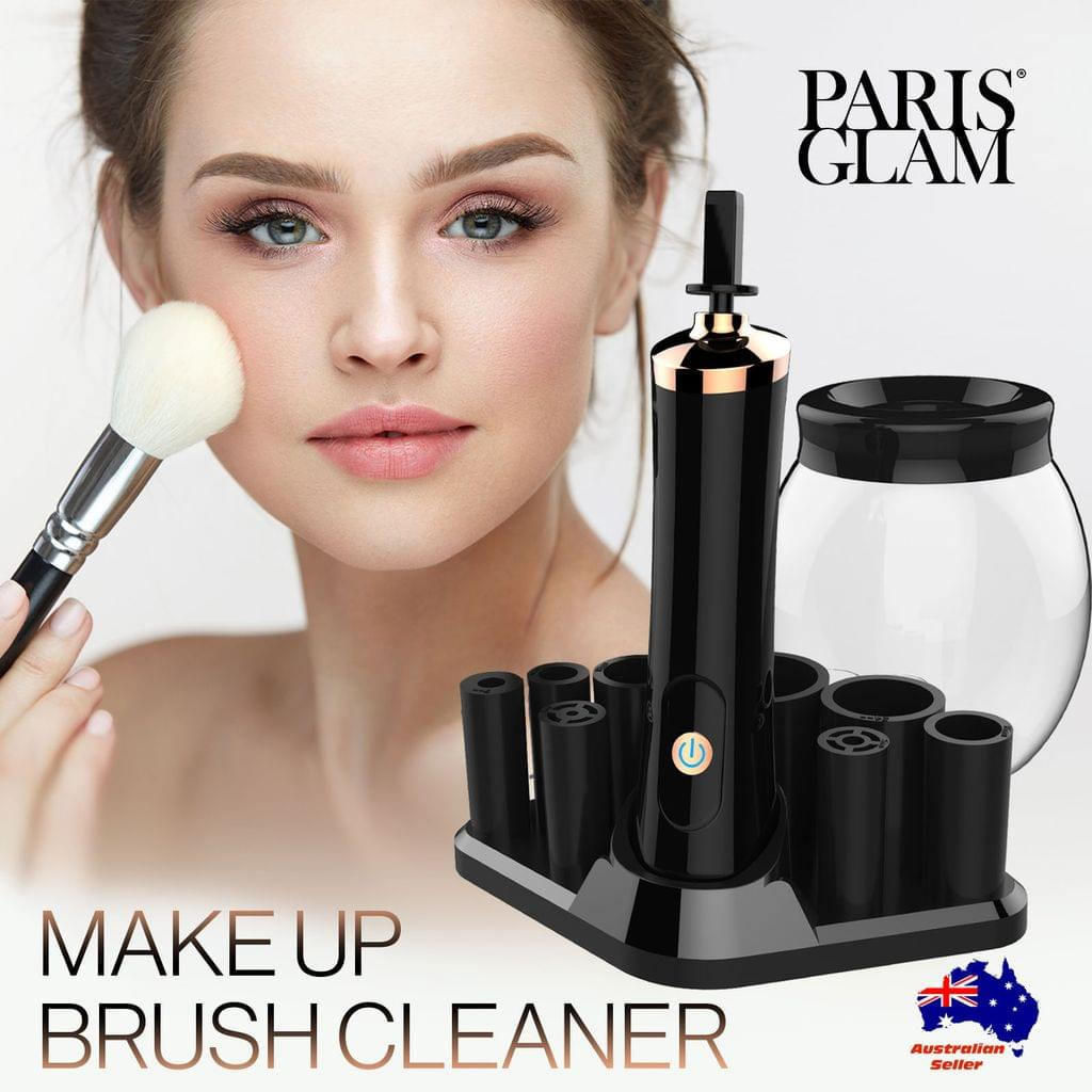 Paris Glam Makeup Brush Cleaner Electric Make-up Brush Cosmetic Cleanser & Dryer